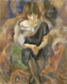 JulesPascin-1920-Lucy with Fur.png