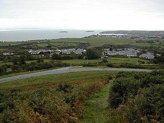 Mynytho - Image: Junction at Mynytho geograph.org.uk 62677