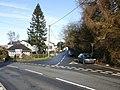 Junction of four roads, The Village, Caerleon - geograph.org.uk - 1720470.jpg