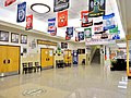 Justin F. Kimball High School lobby.jpg