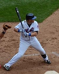 Justin Turner batting for the 2011 New York Mets 5686003d8da