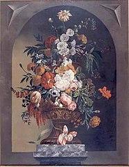 A Vase of Flowers (overdoor)
