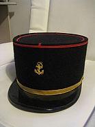 Képi troupe de marine de caporal - chef ou de sergent