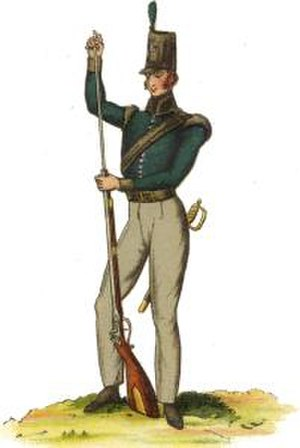 King's German Legion - Private from the 1st light battalion