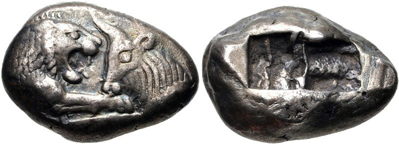 KINGS of LYDIA. Kroisos. Circa 560-546 BC. AR Stater