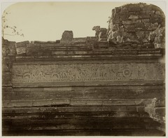 KITLV 28323 - Isidore van Kinsbergen - Relief on the first gallery on the south side of Panataran near Blitar - 1867-02-1867-06.tif