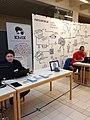KIWIX (Wikipedia Offline) und Wikimedia CH am LinuxDay Dornbirn 2014 (Version 2).JPG