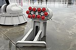 KT-216 launcher of PK-10 naval countermeasures system at Park Patriot.jpg