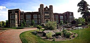 Kansas Wesleyan University - Image: KWU main building