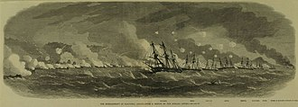 Edward St. John Neale - Colonel Neale led the Bombardment of Kagoshima, on board the flagship Euralyus in August 1863.