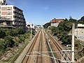Kagoshima Main Line and Kashii Line from Japan National Route 3 3.jpg