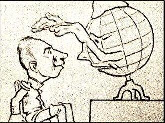 """History of Brazilian animation - Frame of """"Kaiser"""" (1917)"""