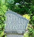 Kamienna Góra, obelisk przy ul. Nadrzecznej - d. filia KL Gross Rosen - AL Landeshut DSC06883.JPG