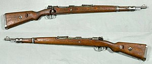 Karabiner 98k - Karabiner 98k from the collections of the Swedish Army Museum