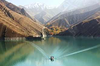 Amir Kabir Dam - Image: Karaj dam