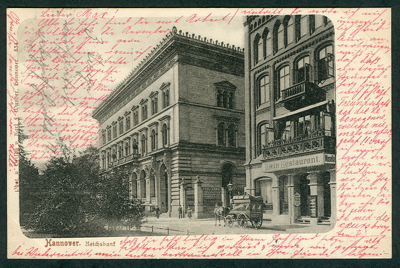File:Karl F. Wunder PC 0534 Hannover. Reichsbank. Bildseite.jpg