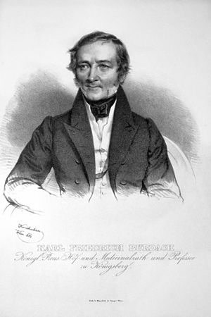 Karl Friedrich Burdach - Karl Friedrich Burdach.