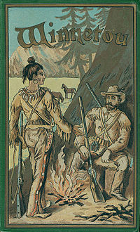 Couverture de l'édition originale de Winnetou.