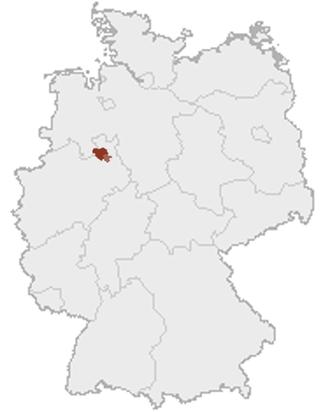 Ravensberg Basin - The Ravensberg Hills in Germany