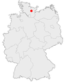Karte Bornhoeved in Deutschland.png