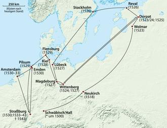 Melchior Hoffman - Travels of Melchior Hoffman