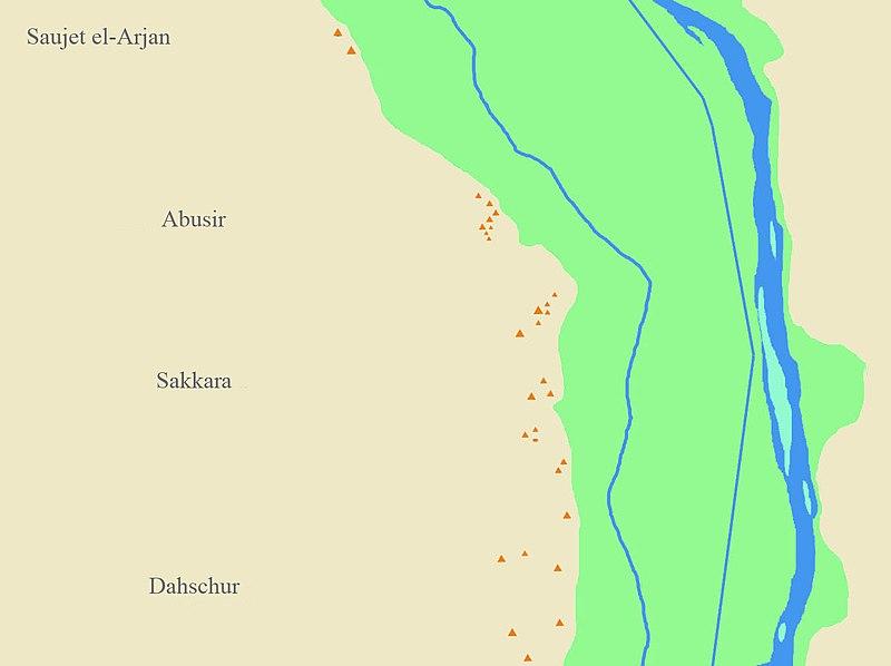 Liste Der Agyptischen Pyramiden Wikipedia
