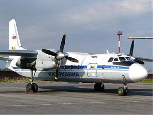 Azur Air - Katekavia Antonov An-24RV