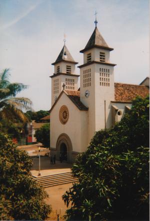 Bissau Cathedral - Image: Kathedrale von Bissau