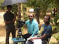 Kavypriya at shooting spot.jpg