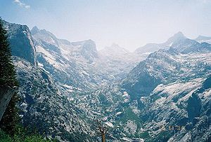 Kaweah Gap in Sequoia National Park