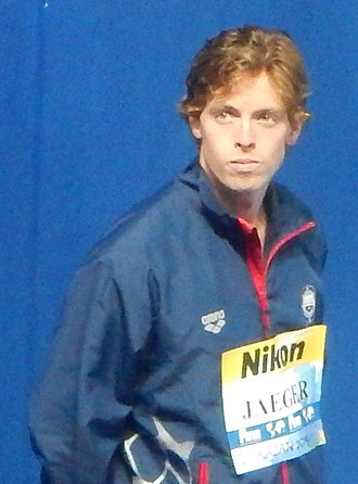 Connor Jaeger - Jaeger at the 2015 World Championships