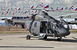 Kazan Ansat - 100th anniversary of Russian Air Force -02.jpg