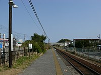Kazusa-Kiyokawa Station Platform.JPG
