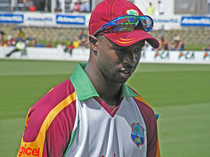 Kemar Roach - Roach during West Indies tour of Australia in February 2010