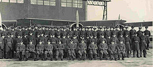 RAF Kenley - AOC's visit to 46 Sqn at RAF Kenley to present Sqn Plaque 1938