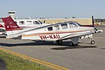Kennedy Aviation (VH-KAU) Beechcraft G36 Bonanza at Wagga Wagga Airport.jpg