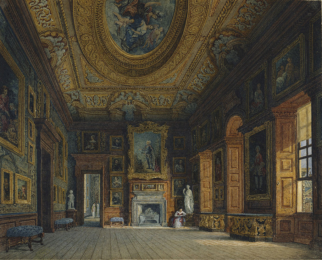 Кенсингтонский дворец, Гостиная королевы Каролины, Чарльз Уайлд, 1816 - royal coll 922151 313712 ORI 2.jpg