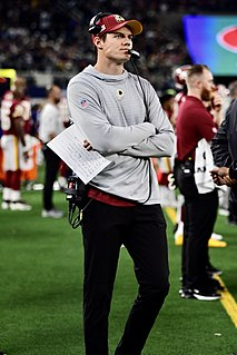 Kevin OConnell (American football) American football coach and former quarterback