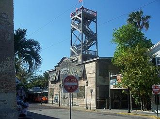 Key West Shipwreck Museum - Image: Key West FL HD Mallory Square Shipwreck Museum 01