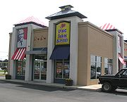 A co-branded Long John Silvers and KFC