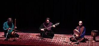 Masters of Persian Music - From left: Kayhan Kalhor, Hossein Alizâdeh, Majid Khalaj (15 August 2010)