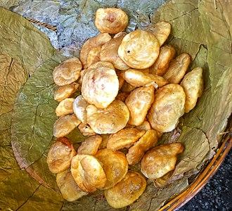 Kachori - Bengal-style kochuri, Nabadwip