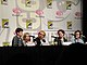 Kick-Ass panel - Christopher Mintz-Plasse, Chloë Grace Moretz, Nicolas Cage, Aaron Johnson, Clark Duke (4498729641).jpg