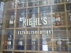 illustration de Kiehl's