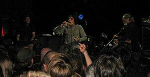 Killing Joke - Killing Joke plays live in Paris during the 2008 tour (Le Trabendo, 27 September 2008).