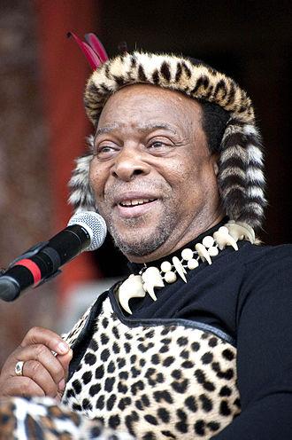Goodwill Zwelithini kaBhekuzulu - Image: King Goodwill Zwelithini