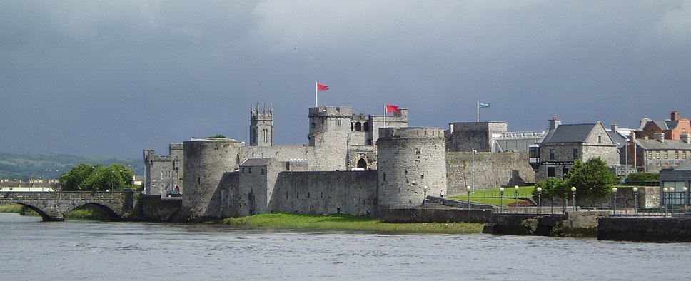 King John's Castle in Limerick