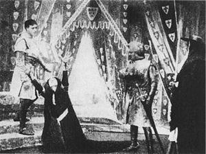 King John (1899 film) - Image: King John (1899) Act 2, Scene 1 (FF3.4)
