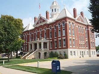 Kingman County, Kansas - Image: Kingman county kansas courthouse 2009