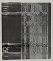 Kirjansidontaa, harjoitustyö, 1930-luku. Taideteollisuuskeskuskoulun opetustilanteita.-TaiKV-09-030.jpg